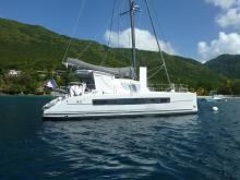 Catana 42 Owner version : Au mouillage en Martinique